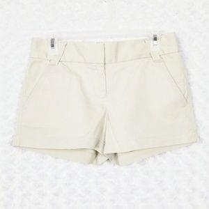 J. Crew Chino Khaki Shorts Classic Twill